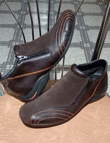 Rieker buty trzewiki damskie skórzane r 40 dł wkł 25-25,5cm super st