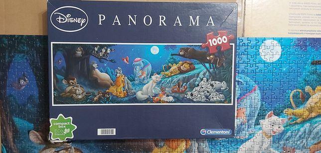 Zestaw puzzli puzzle Clementoni Trefl 1000 sztuk i 500 sztuk