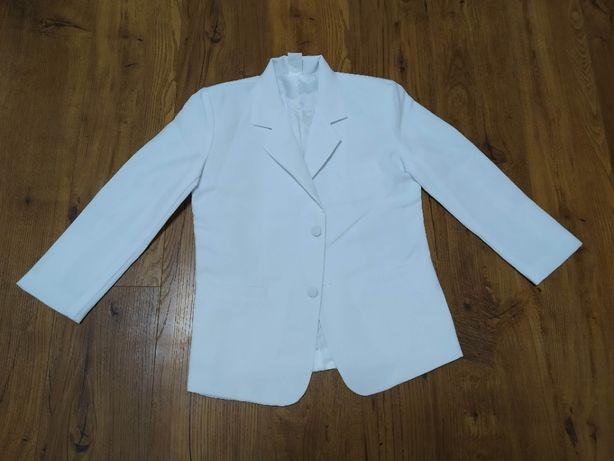 Белый пиджак р.122