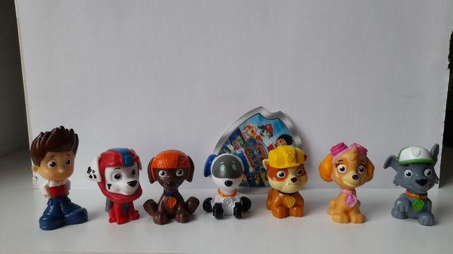 Figurki Psi Patrol od Spin Master 7sztuk