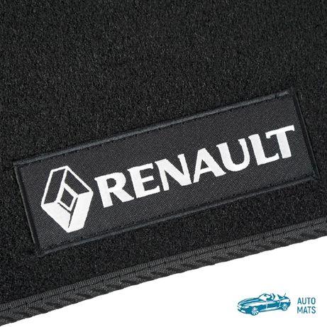 Коврики Renault Megane II 2, III 3 текстильные ворсовые рено меган