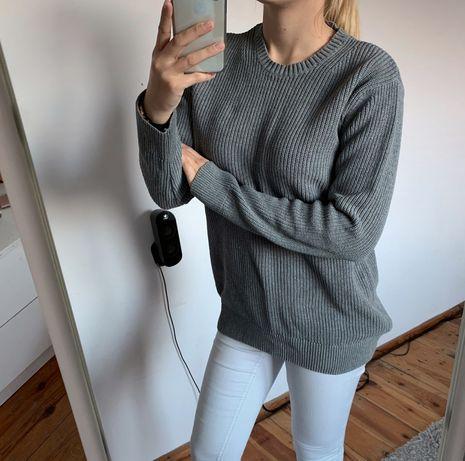 Sweterek sweter szary dzianina cubus M L