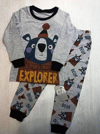 Пижамы для мальчиков 2-7 лет Caluby