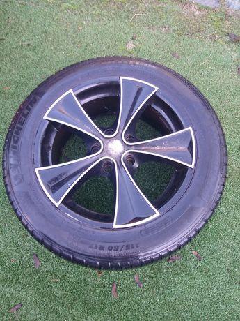 Koła alufelgi 5x120 opony Michelin 215/60/17
