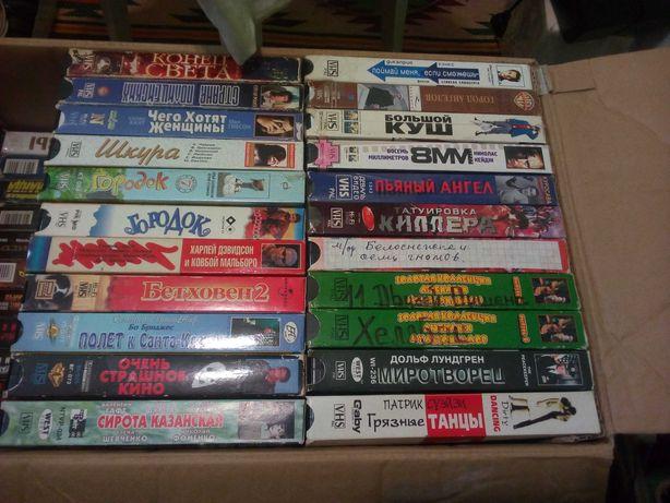 Видео кассеты с фильмами и мультикам 100 штук + подарки - 2 тел 2 вид
