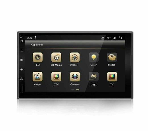Rádio 2 DIN Android 8-Core+4 GB RAM+32 GB ROM+GPS/Câmera