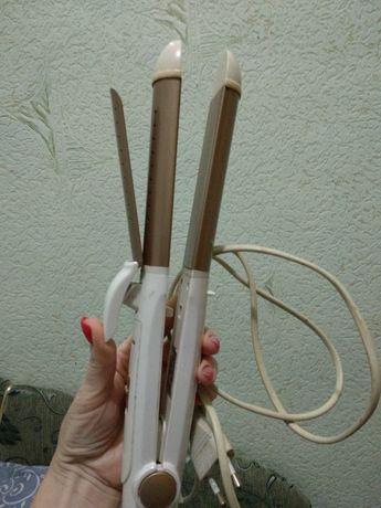 Утюжок - локон 3в1. Для укладки волос