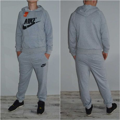 Męski dres zestaw spodnie nike armani bluza bawełna adidas