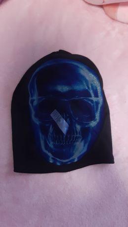 Маска череп на Хелоуин