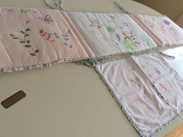Resguardo/protetor de cama de grades