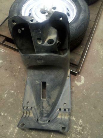 Подгазетник на Yamaha Jog SA16