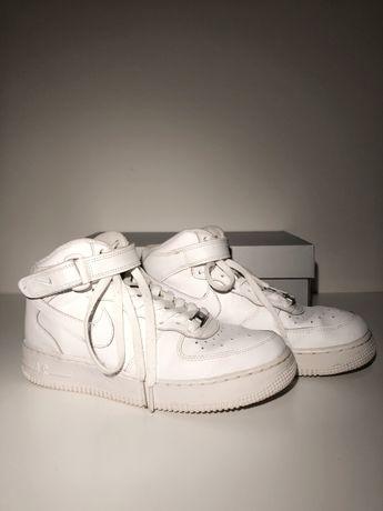 Buty Nike Air Force 1 Mid 39 24,5cm białe