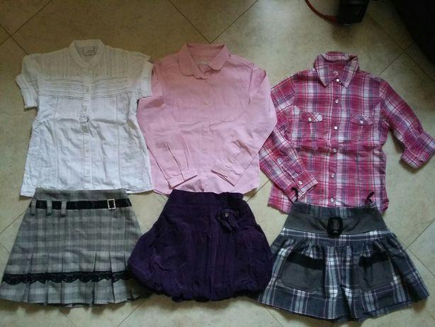 Roz 122/128 ubrania dla dziewczynki