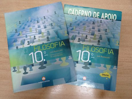 Filosofia 10ºano (manual + caderno de apoio)