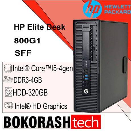 Системный блок HP 800 G1 (I5-gen/DDR3-4GB/HDD-320GB) к.0100008096-1