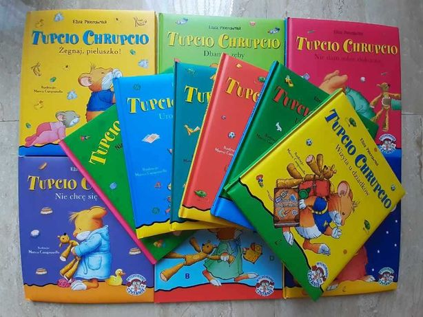 """Tupcio Chrupcio"" x 12"