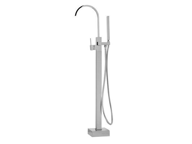 Torneira de banho autónoma cromada RIBBON - Beliani