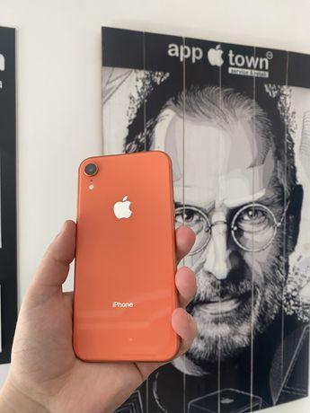 Iphone XR 64gb Coral Идеал/Neverlock/Магазин/Гарантия