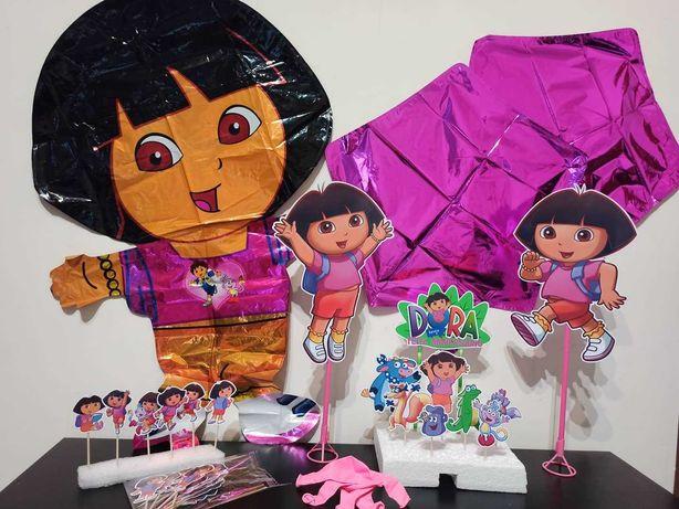 Kit de festa-Dora/Blaze/BLUEY e BINGO/Sininho/pjmasks/super Mario
