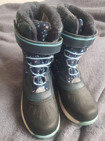 Buty śniegowce rozm.33