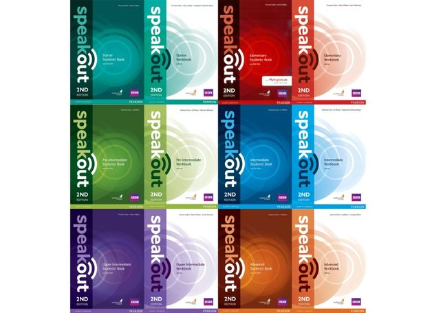 Speak Out 2-nd: Starter,Elementary,Pre-,Upper-,Intermediate,Advanced