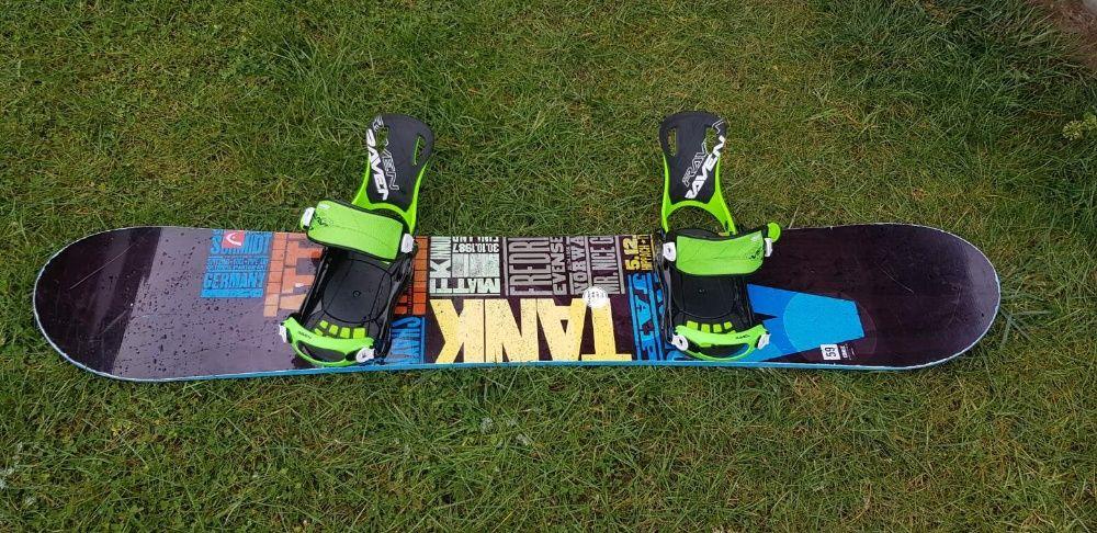 Sprzedam deskę snowboardowa meska Head Course 159 wide + wiąz. Sp Fast Tychy - image 1
