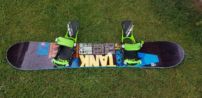 Sprzedam deskę snowboardowa meska Head Course 159 wide + wiąz. Sp Fast