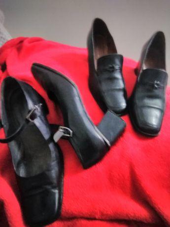 Sapatos em pele,com pouco uso ótimo preço
