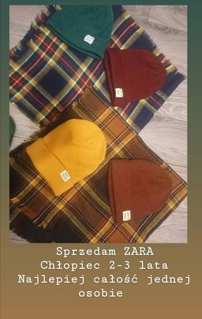 Czapka chusta ZARA H&M
