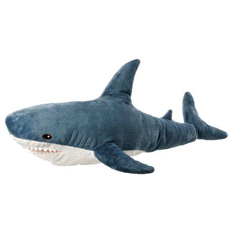 М'яка іграшка акула, игрушка ІКЕА BLÅHAJ