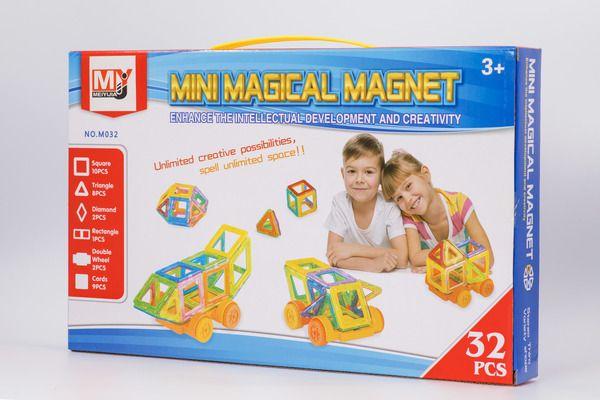 Магнитный конструктор 32 деталей Mini Magical Magnet 3D