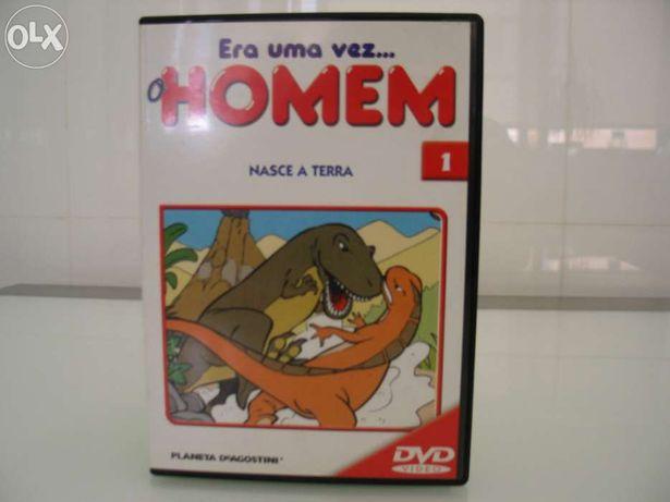 Livro + DVD: Era uma vez o homem