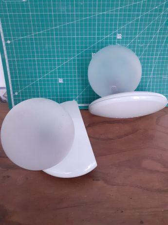 Luminarias de parede. Par de Apliques novos na caixa
