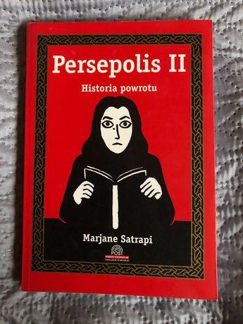 Persepolis Historia powrotu komiks opowieść graficzna stan bdb