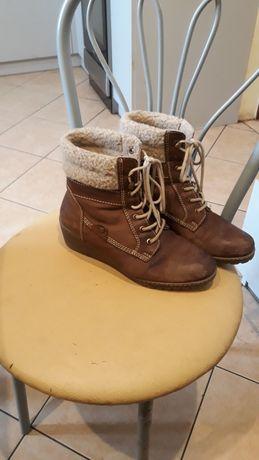 Sprzedam buty używane skórzane firmowe Lasocki