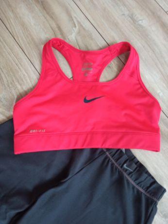 Nike Zestaw komplet dres sportowy top spodnie S 36