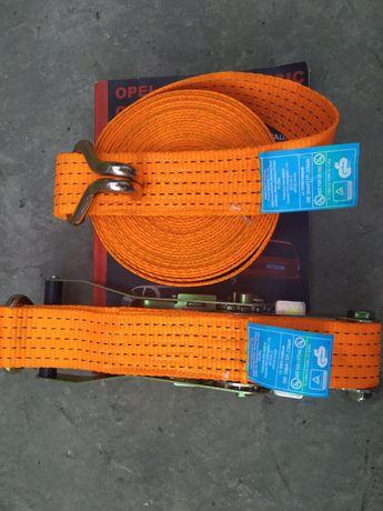 Стяжные ремни для грузов с трещеткой. Для фур
