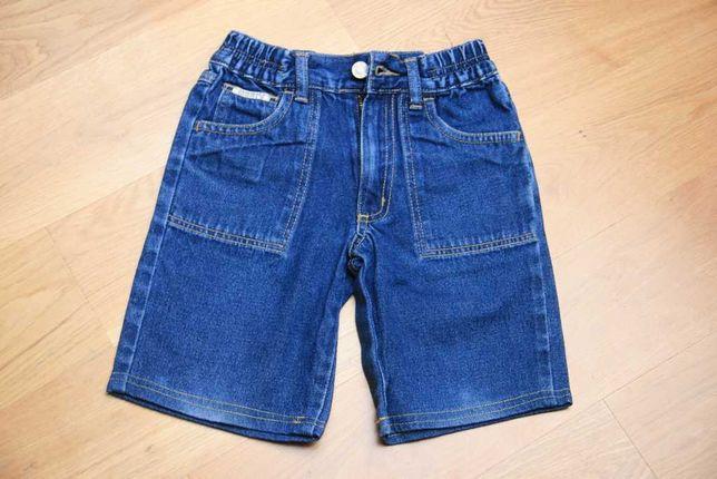 Krótkie spodenki jeansowe dżinsowe jeans rozmiar 110
