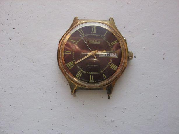 Советские позолоченные часы Слава 26 камней, рабочие. супер!!