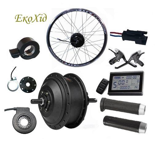 Набор для электровелосипеда 350Вт с редукторным мотор-колесом MXUS