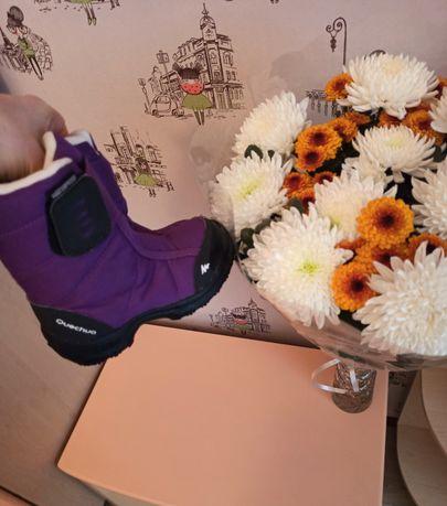 Термо ботинки, сапоги, сапожки  Quechua 26p
