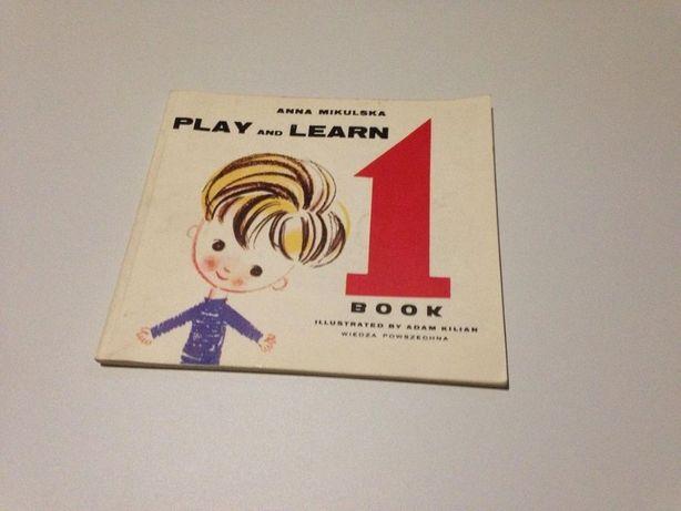 play and learn, 1,2 часть, новая, детский английский, изучение англий