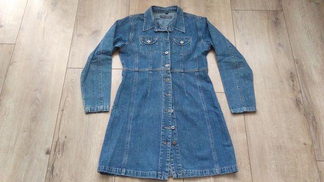Sukienka dżinsowa Popov Clothing - L
