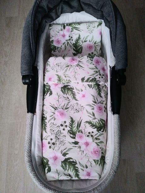 Pościel dziecięca bawełna do wózka łóżeczka wiosna 25zl Makles Design
