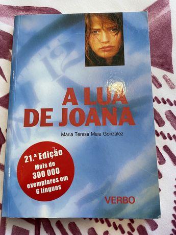 "Livro "" A Lua de Joana"" de Maria Teresa Maia Gonzalez"
