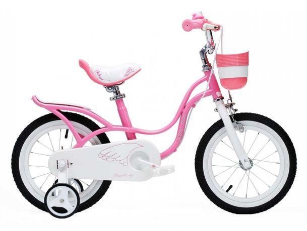 """Детский велосипед 18"""" Royal Baby Little Swan розовый  для девочки"""