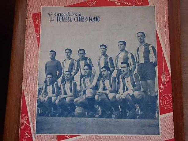 Revista STADIUM Ano 1946  Capa Grupo de Honra FUTEBOL CLUBE do PORTO