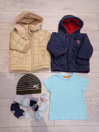 Pakiet ubrań chłopięcych r. 74
