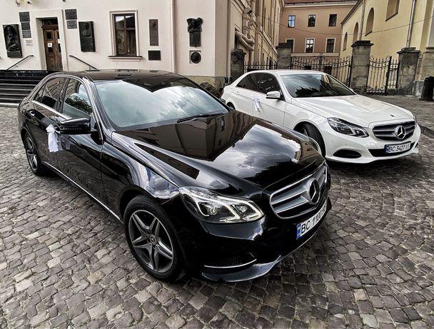 Авто на весілля - Mercedes E-class, S-class, V-class, BMW, Audi