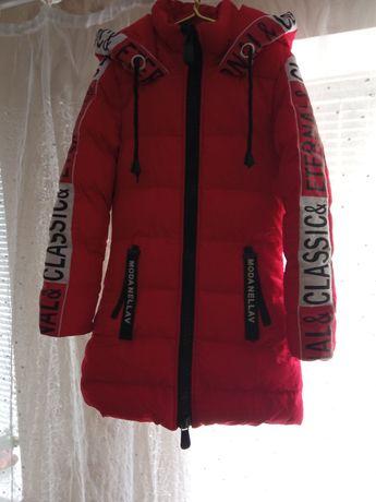Куртка зимняя яркая